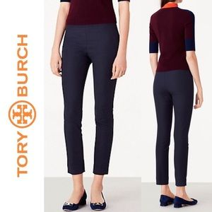 ⚡️SALE⚡️Tory Burch Maude Leggings 6 Navy Office